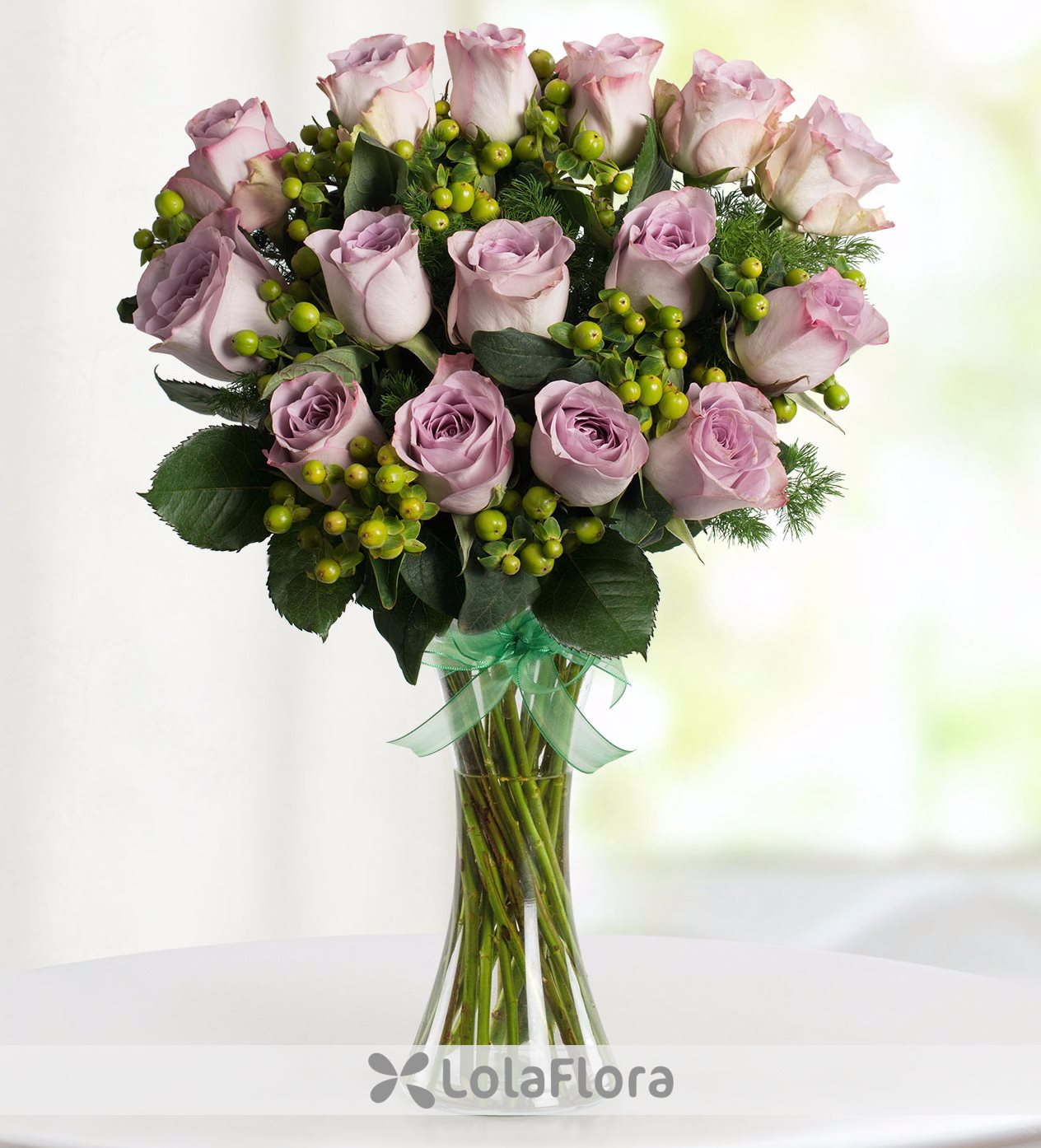 Sweetness large bouquet of 50 lilac roses lolaflora 15 lilac roses sweetness izmirmasajfo