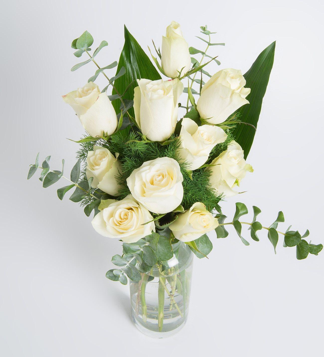 White roses purity of you 10 white roses purity of you izmirmasajfo Images