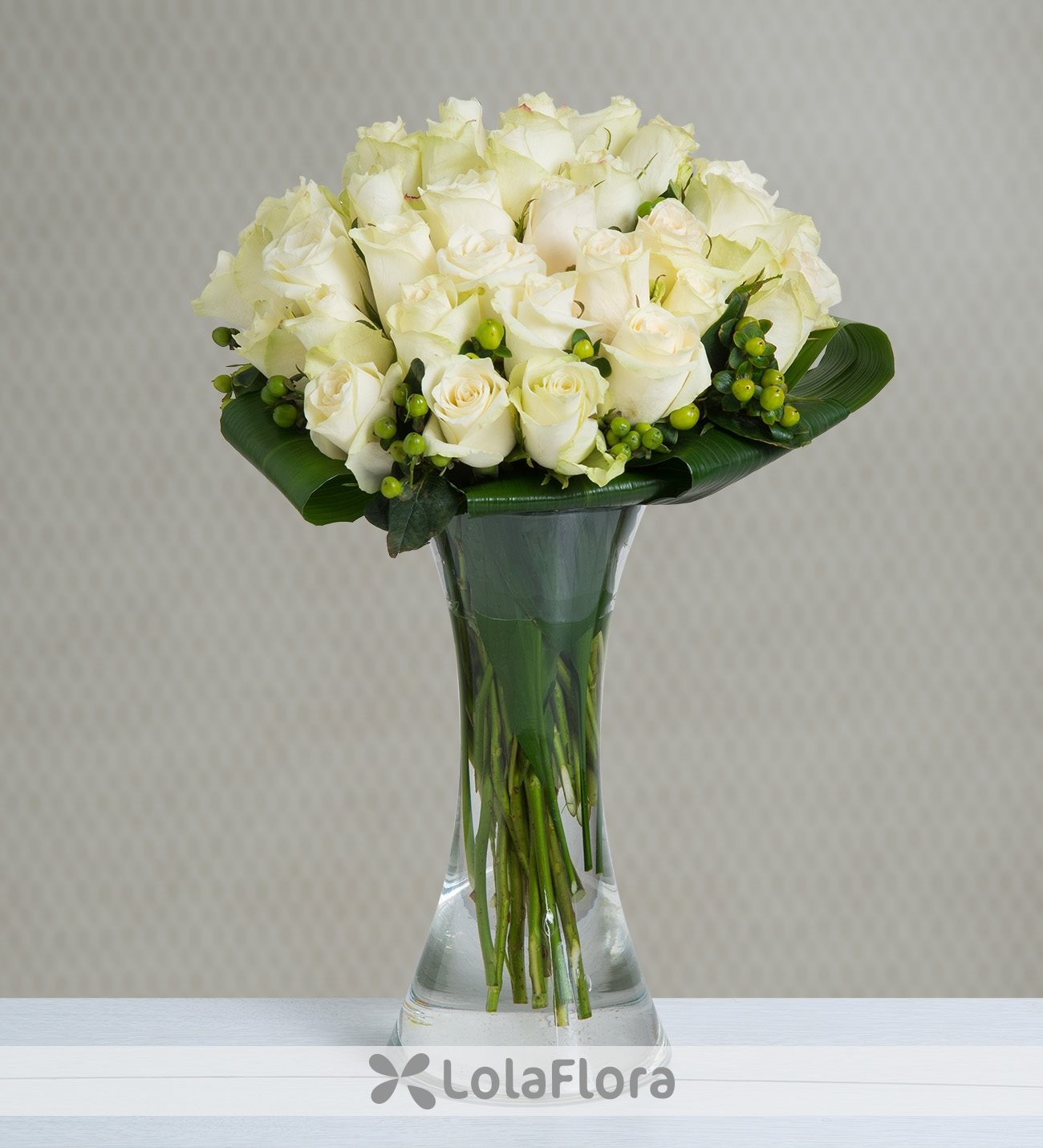 Get 50 White Roses For Same Day Delivery Lolaflora
