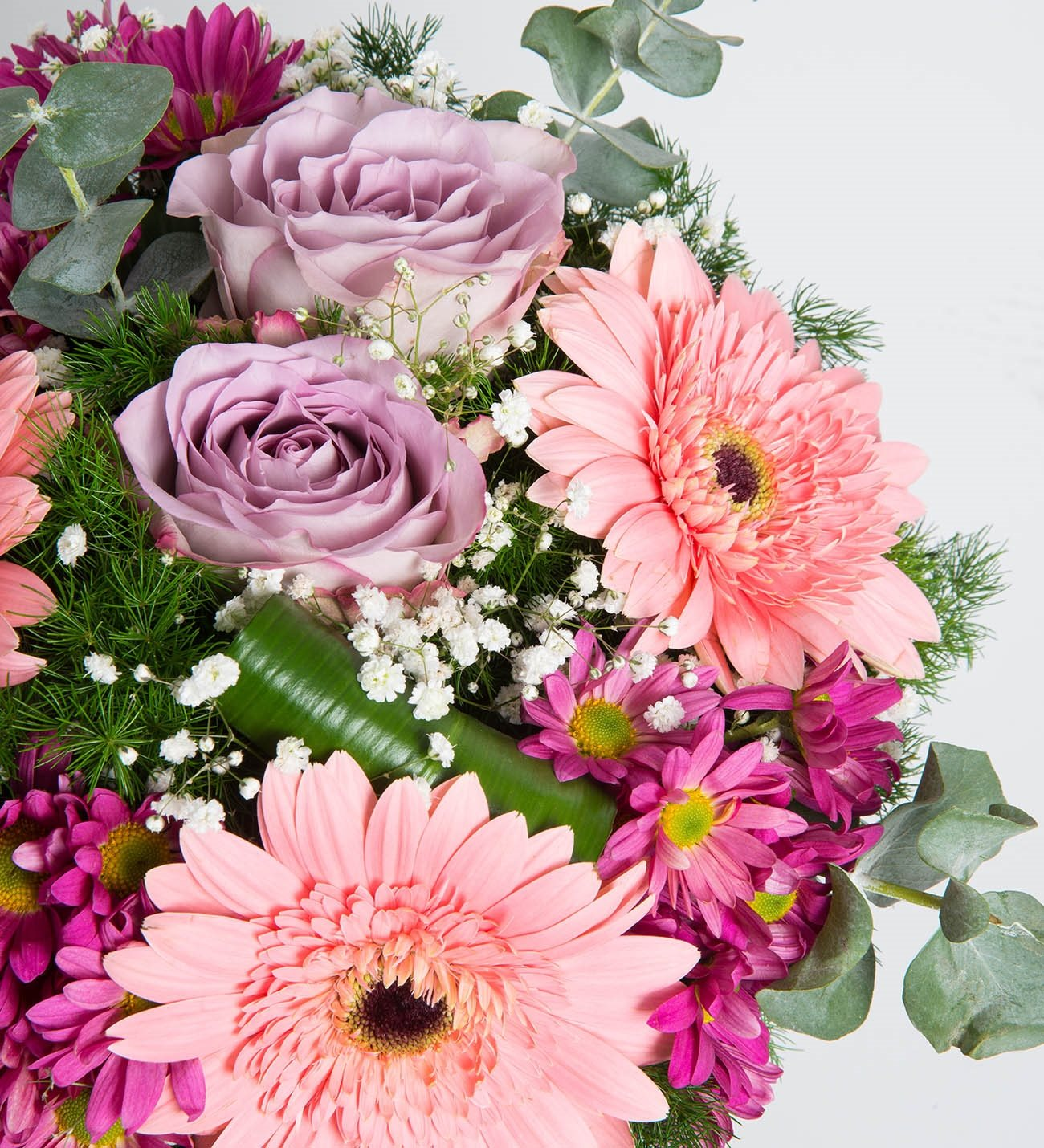 Roses and daisies warm colors gerberas roses and daisies warm colors izmirmasajfo Image collections