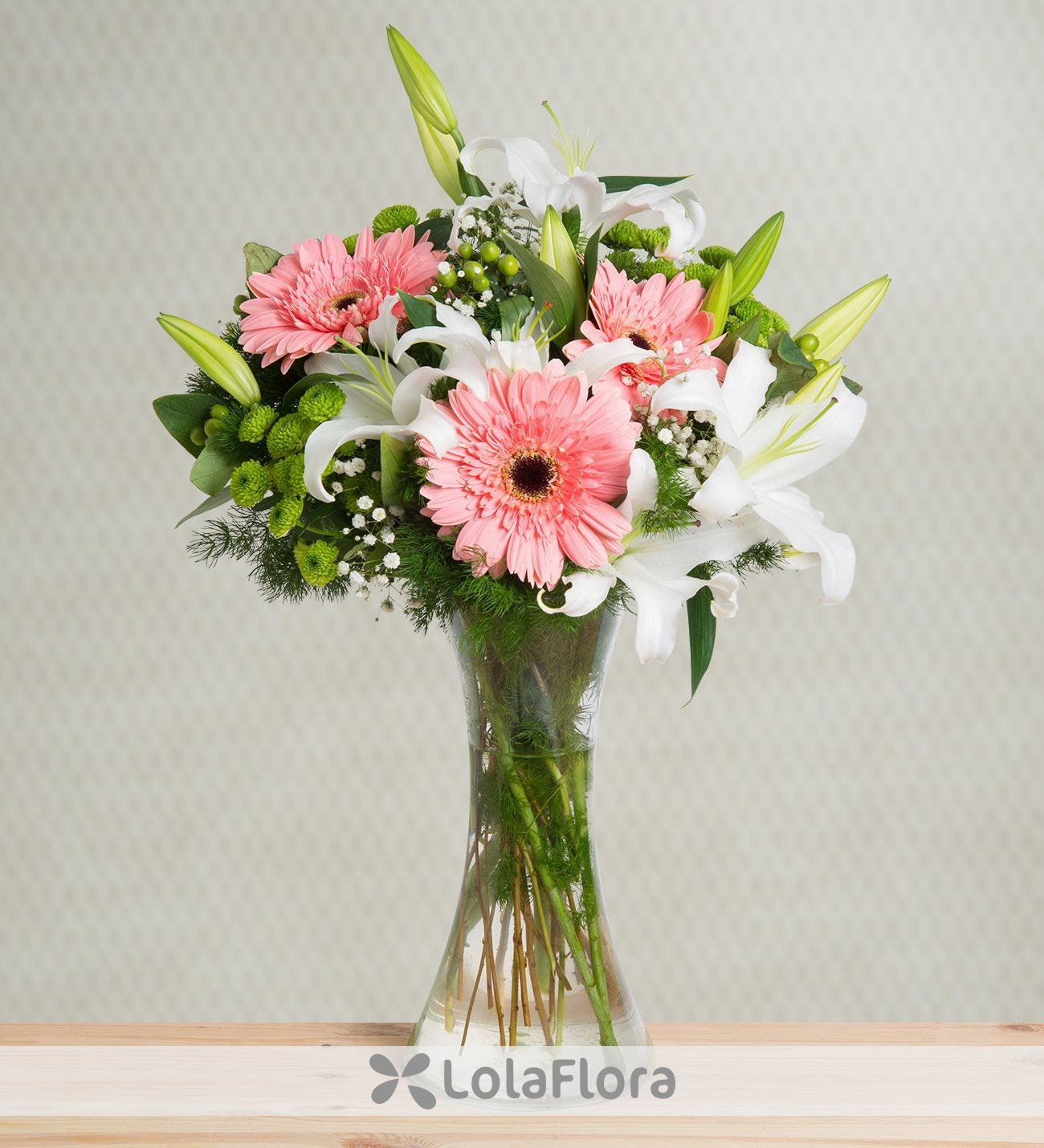 Gerberas And Lilies Sweet As Candy