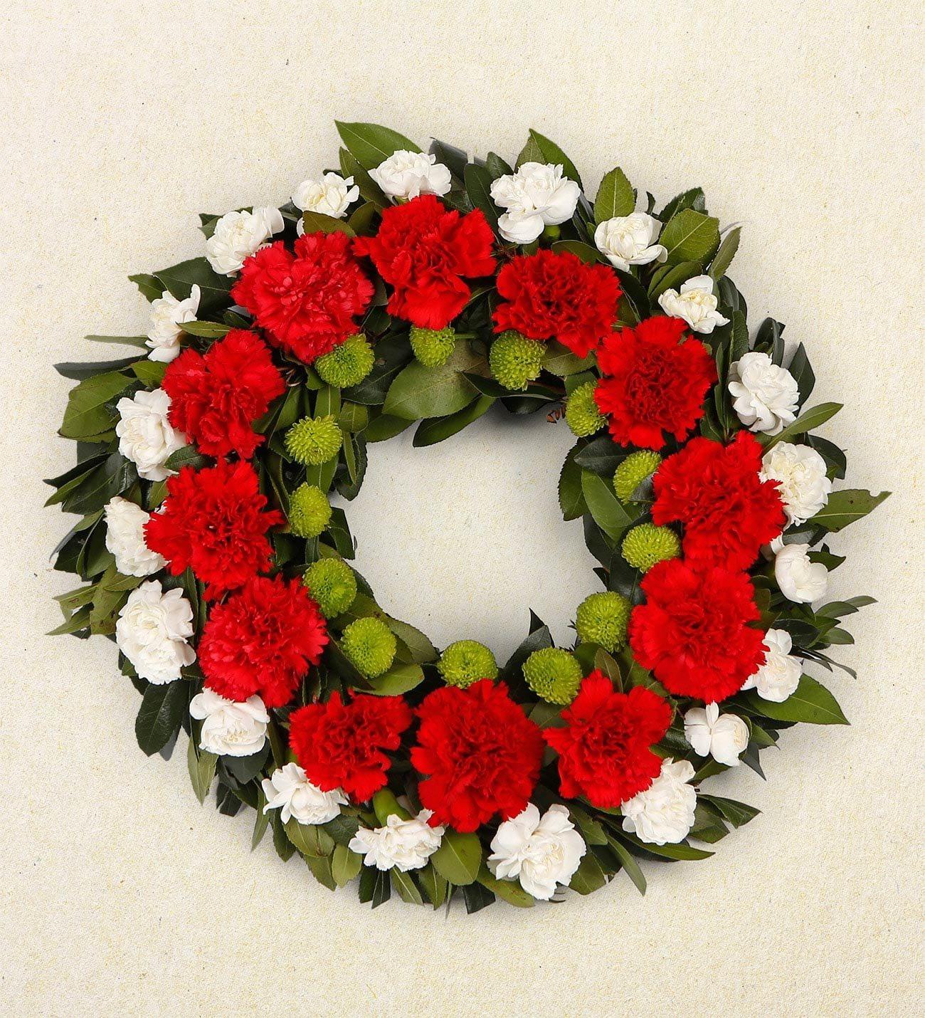 Memories of the heart funeral wreath izmirmasajfo