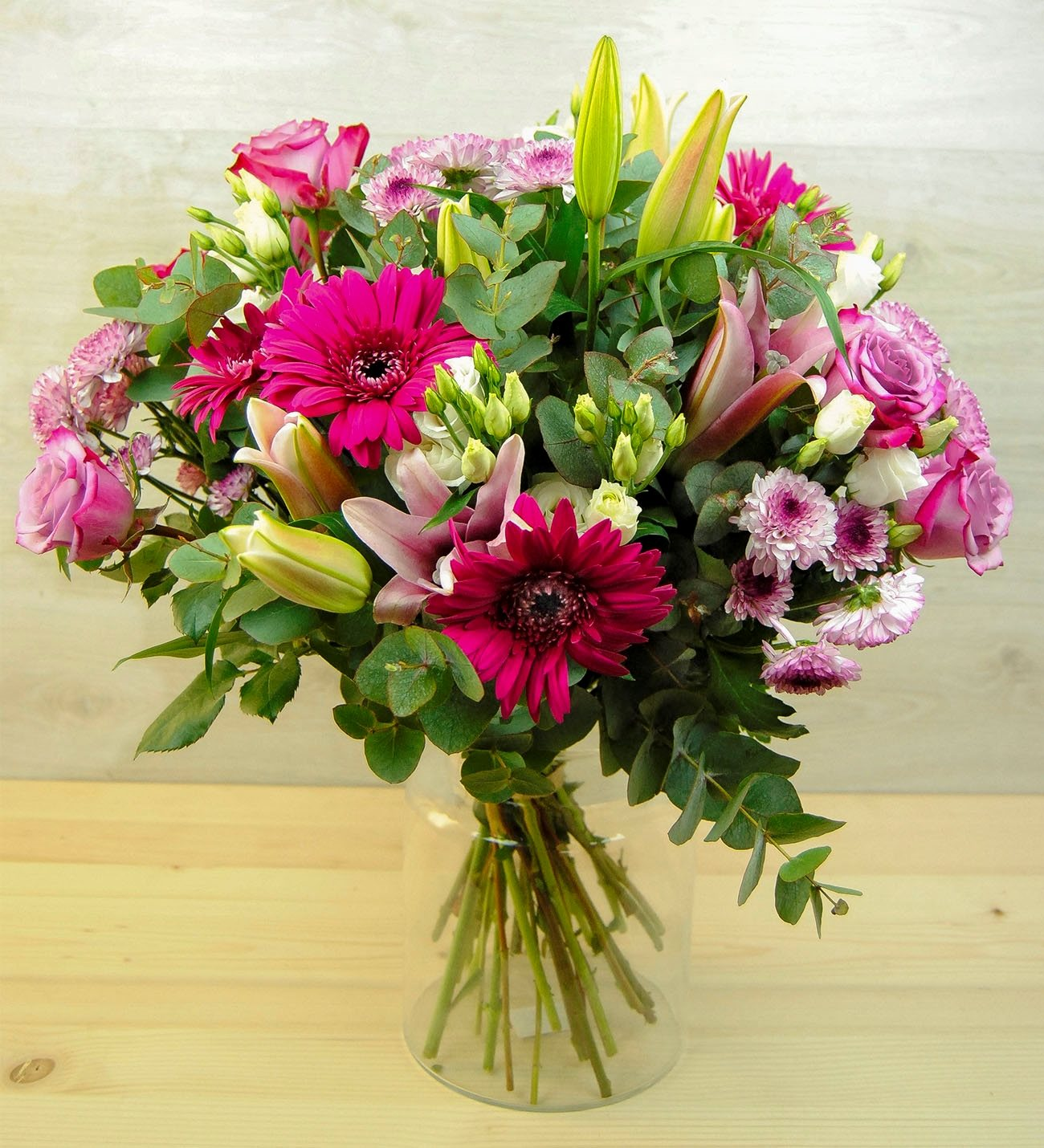 Sorez - Colourful Mixed Flower Bouquet - LolaFlora